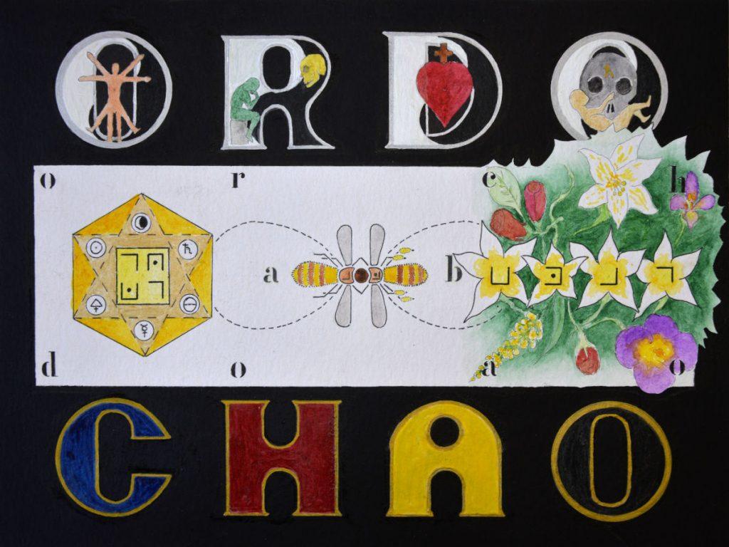 Démarche artistique de Nemau - Ordo ab chao - aquarelle